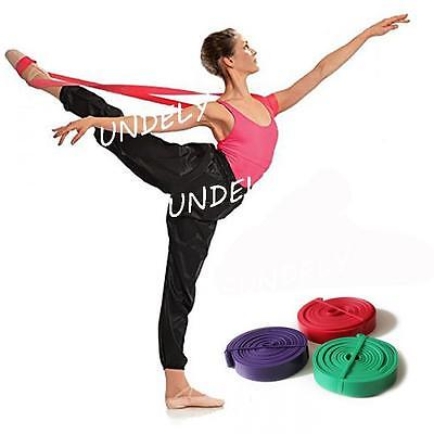 Stretch Strap Relax Ballet Band for Dance Gymnastics Training Rubber Elastic NEW