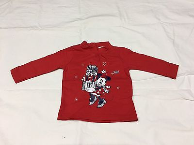 Brand New Minnie Mouse Girl Tops - 6m Size