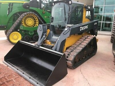 2015 John Deere 333E Multi Terrain Loaders