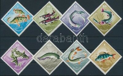 Mongolia stamp Fishes set MNH 1965 Mi 398-405 WS237168