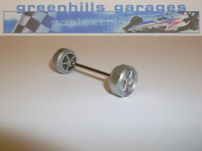 Greenhills Scalextric Subaru Impreza Street Machine C2607 Front Axle & Wheels...
