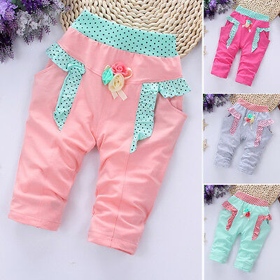 1PC Kids Baby Girls Clothes Clothing Pants Trousers Toddler Girl Summer Shorts