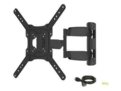 """Rosewill RHTB-17002 17"""" - 55"""" LCD LED TV Wall Mount with 6 ft. 4K HDMI cable, Ma"""