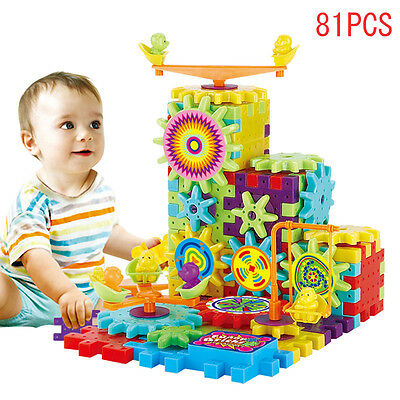 UK 3D Building Electric Jigsaw Children Kid Baby Learning Educational Puzzle Toy