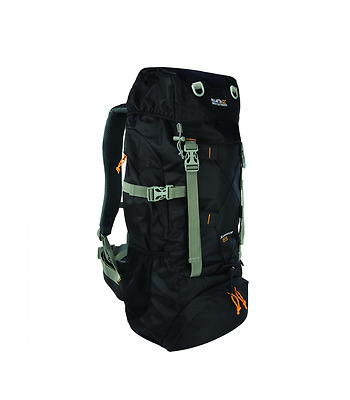 Regatta Survivor III 65 Litre Rucksack Backpack EU143/800 Black NEW