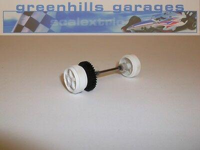 Greenhills Scalextric Mitsubishi Lancer EVO7 Rear Axle & Wheels – Used P677