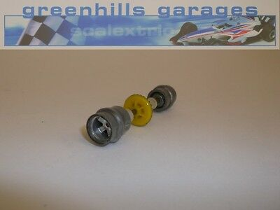 Greenhills Scalextric Arrows Silver Rear Axle & Wheels – Used P744