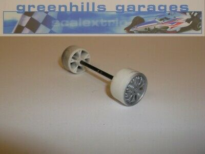 Greenhills Scalextric Mercedes C-Class ProMarkt C699 Front Axle & Wheels – Us...