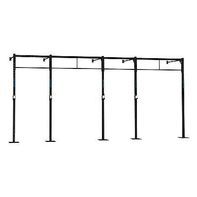 Capital Sports Dominate Wall Mount Squat Power Rack Home Gym Pull Up Station