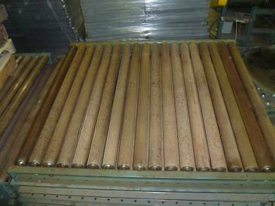 "3 Hytrol Pallet Conveyor 2-1/2"" Rollers 3"" Centers 45"" BF 54"" x 48"" x 4"""