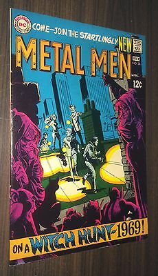 METAL MEN #38 -- July 1969 -- Mike Sekowsky -- VF Or Better