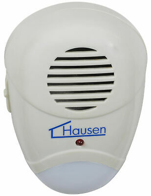 Hausen Ultra Sonic Repellent Plug-In Rat/Mouse/Rodent Repeller Pest Deterrent