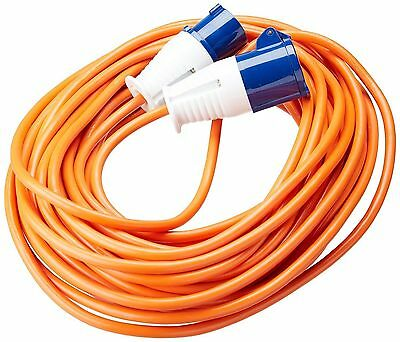 25 Metre 230v Caravan Electric Hook Up site Extension Mains Cable Lead long boat