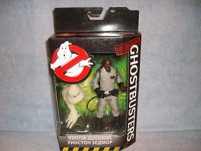 Winston Zeddemore Classic Ghostbusters Mattel 2016 New Sealed