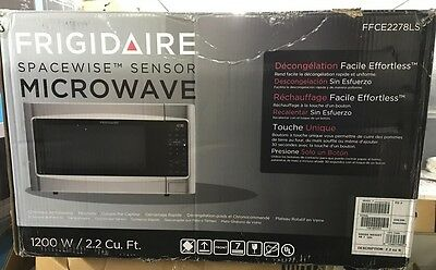 NEW Frigidaire Counter top Microwave 2.2 Cubic Feet Stainless Steel (FFCE2278LS)