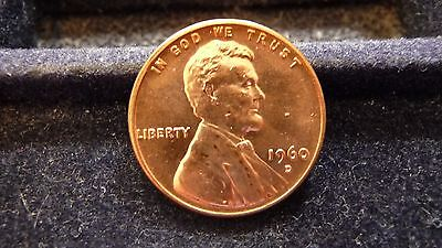 1960-D Lincoln Memorial (Small Date) Cent Unc D-9-17