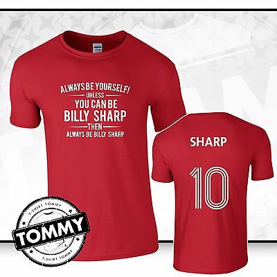Sheffield United Always Be... Billy Sharp T-Shirt Blades SUFC Sheff United