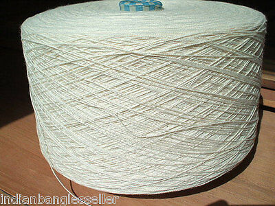 4 lbs - 8/2 Natural Cotton Weaving Yarns - First Quality