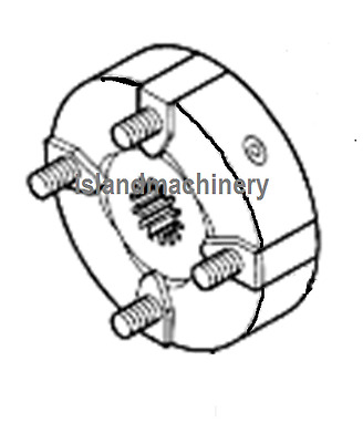 John Deere  Excavator Hydraulic Pump Coupling Assembly Replaces At154168