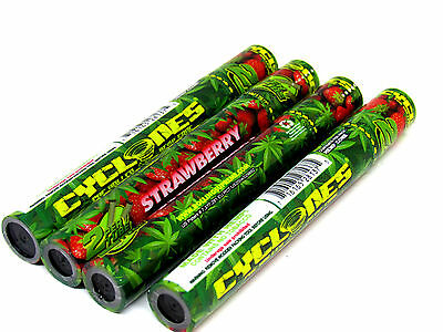 Cyclone Hemp Cone Strawberry Flavored Pre Rolled Cones - 4 Pack - 2 Each RYO