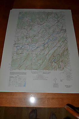 1940's Army topographic map, Mohonk Lake New York Sheet 6167 1 SW