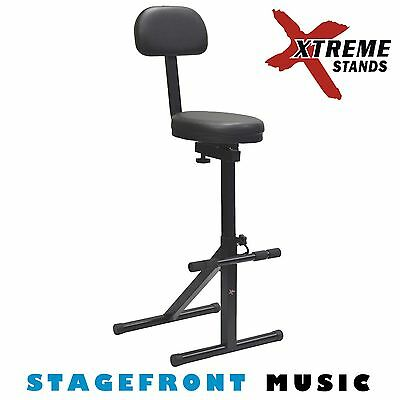 Xtreme - Heavy Duty Performer Guitar Stool. Guitarist'S Chair - Gs614