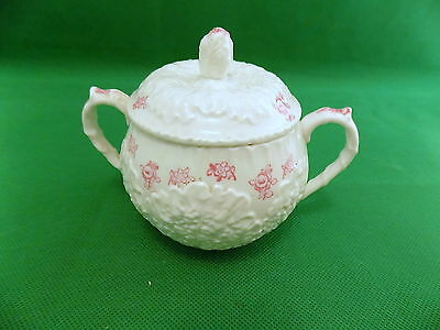 Spode Forget - Me - Not Sugar Bowl