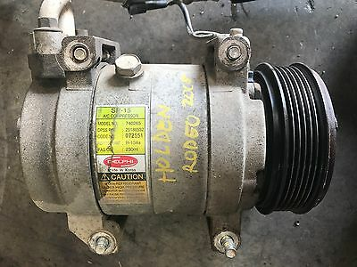 Holden Rodeo 2005 Model Air Conditioning Compressor 3.5L V6 03 - 08