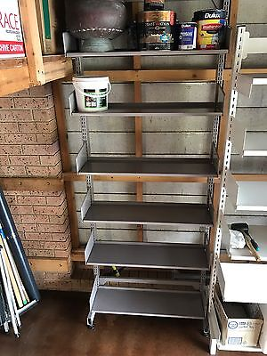 3 X Heavy duty Metal Storage Racks
