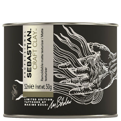 Sebastian Craft Clay 52ml LIMITED EDITION Tatooedition Modellierknete Matt Halt