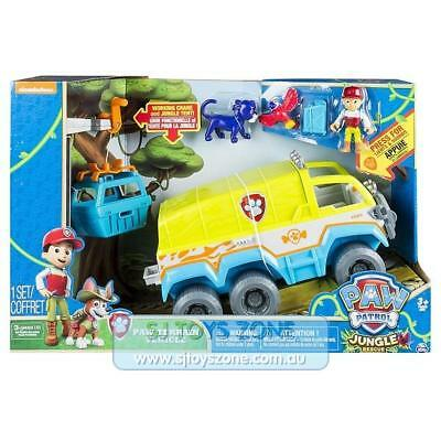 Paw Patrol Jungle Rescue Paw Terrain Vehicle with Ryder and Baby Panther Toy