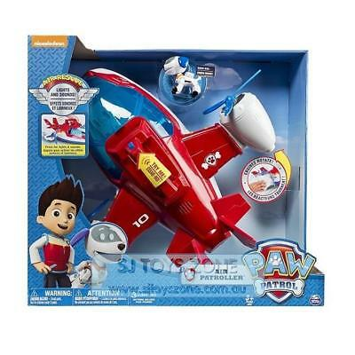 Paw Patrol Robopup Air Patroller Plane/Copter with Lights and Sounds Kids Toy