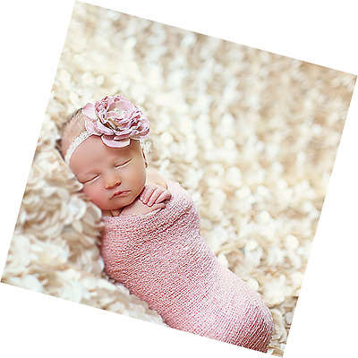 Yarra Modes Newborn Baby Photography Photo Props 3D Rose Flower Backdrop Beanbag