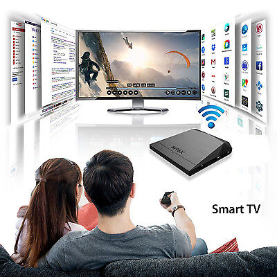 M96X S905X Smart Android 6.0 TV Box Quad Core Google Play Fully Loaded Ultra HD