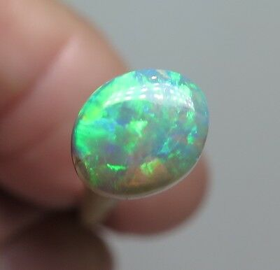 Lightning Ridge Black Crystal Opal 0.65Ct  Australian Natural Stone