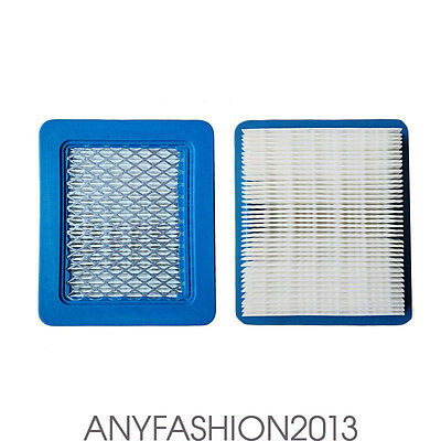 Replacement Air Filter 1 Pack For Briggs & Stratton 491588S 491588 399958 HL7