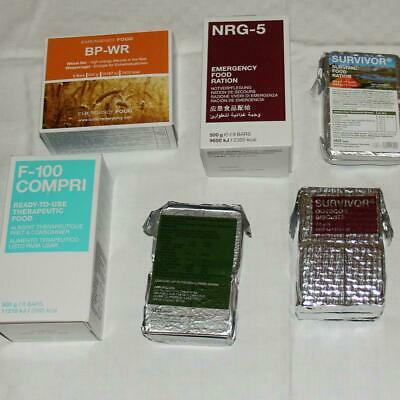Notration Bp-Wr Notfall Nahrung Survival Food Ration Nrg-M,  Nrg-5, F-100, Kekse