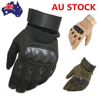 Army Tactical Gloves Airsoft Gloves Climbing Motocycle Outdoor Full Finger AU
