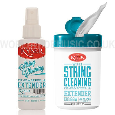KYSER KDS100/W String Cleaner with a choice of Wipes or 4 oz Spray Bottle