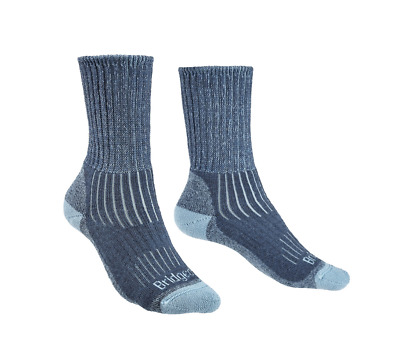 Bridgedale MerinoFusion Trekker Women's Sock Blue NEW