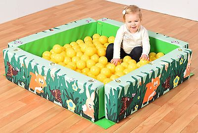 Soft Play Toddler Ball Pool & Storage bag. Foam filled Soft Play (T1490)