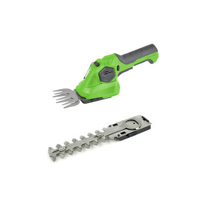 Charles Bentley 3.6V Cordless 2 in1 Grass Cutter & Hedge Trimmer Hand Held Shear