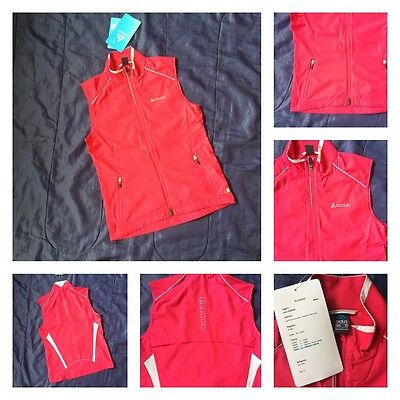 ODLO Ladies Womens Vest Sports Running Active Sleeveless Gilet Windproof Warm