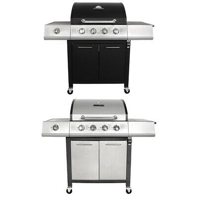 Uniflame Grill and Sear 6 Burner + 1 Side Gas Stainless