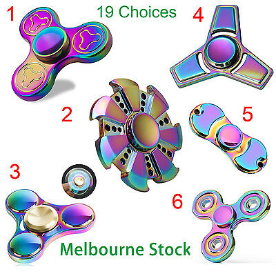 Gyro Finger Spinner Fidget Toy Alloy Fidget Hand Spinners For Kids Autism Gifts