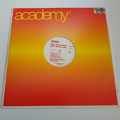 "Vespa - Take Me Away - Academy Records - 2000 - 12"" Classic Trance Vinyl"