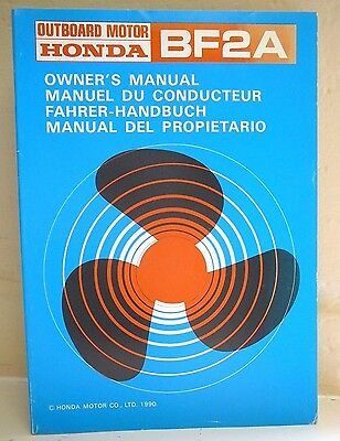 honda bf2a 2hp outboard engine owners manual 14 99 picclick uk rh picclick co uk