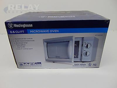 Westinghouse WCM660W Microwave BRAND NEW FACTORY SEALED