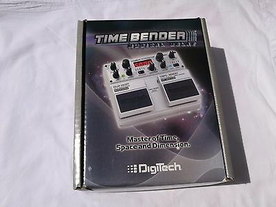 Digitech Time Bender Musical Delay With Power Adapter