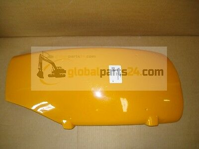 Fender front left ahnd yellow, 343mm wide - 4CX PARTS JCB 123/03523